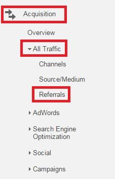 Referencias google Analiticas